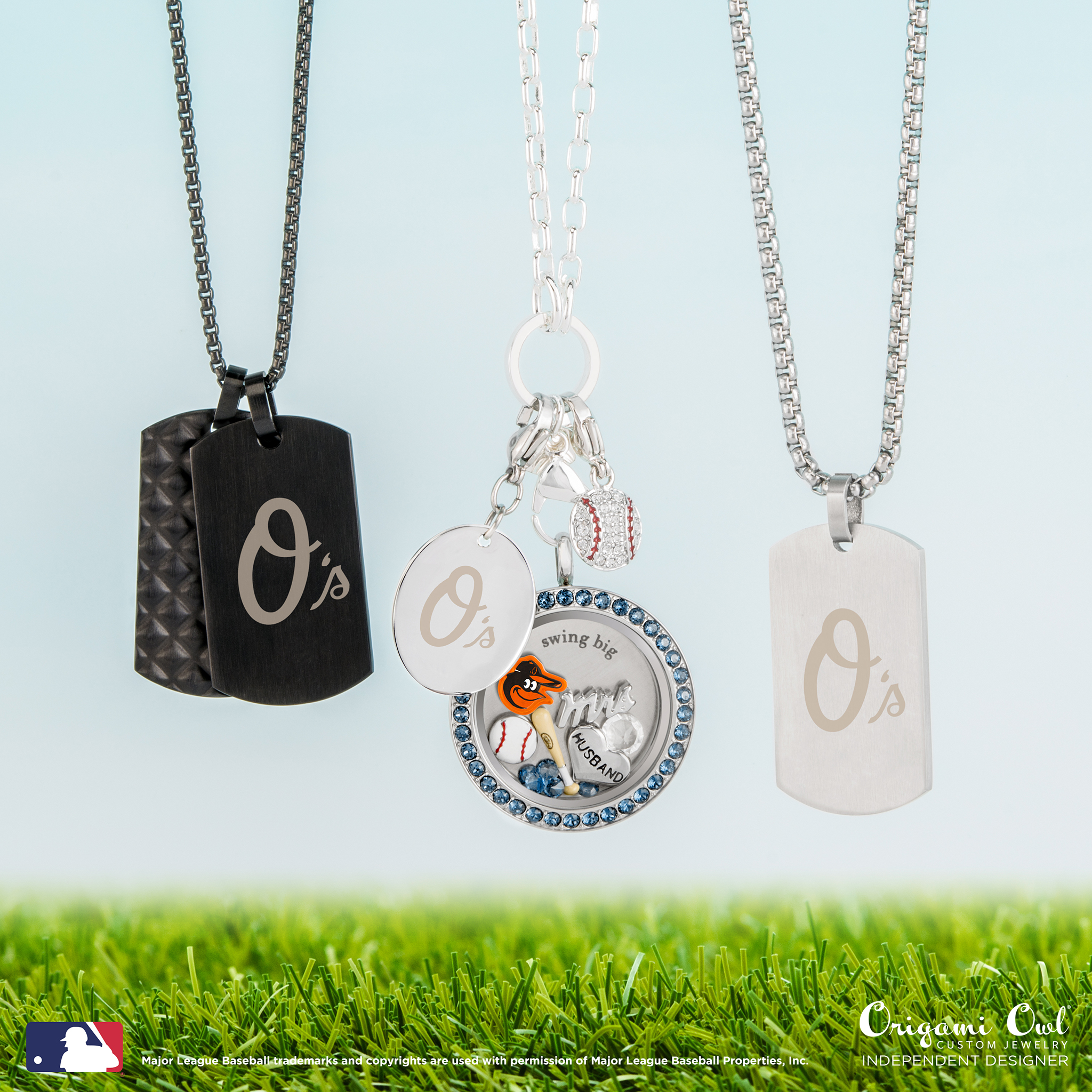 Best baseball jewelry to represent your favorite mlb team baltimore orioles jeuxipadfo Images