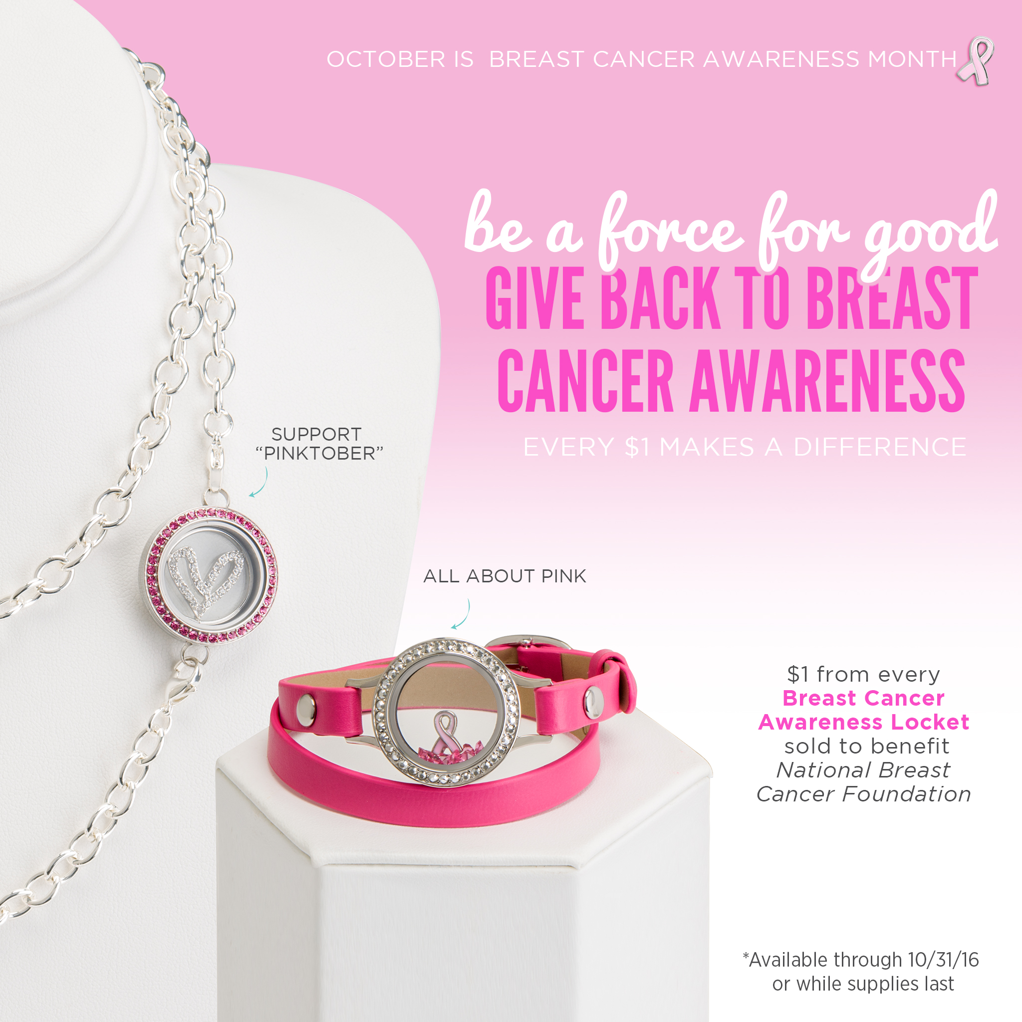 breast products pink good ribbon charm awareness republic bracelet cancer support
