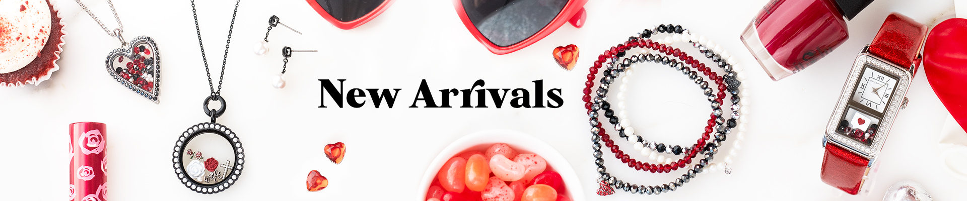 New Arrivals banner