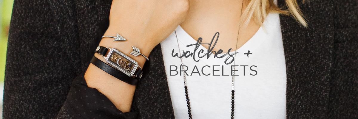 Bracelets + Watches banner