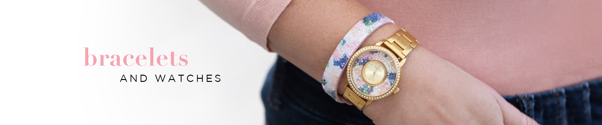 Bracelets + Watches banner