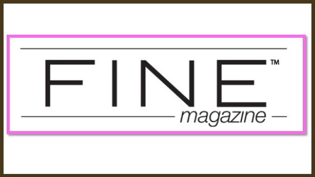 FINE Magazine Shows Off Some Stylish O2 Jewelry!
