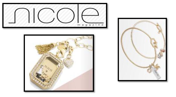 NICOLE Magazine Features O2 Jewelry TWICE