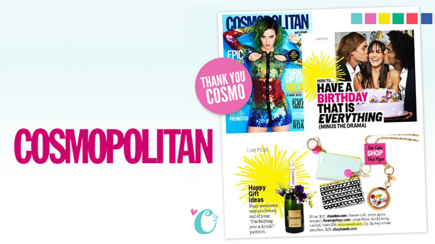 ORIGAMI OWL BIRTHDAY LOCKET FEATURED IN COSMO MAGAZINE!