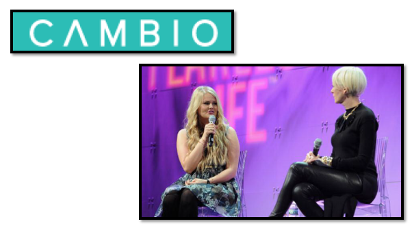 Bella interviews with CAMBIO1