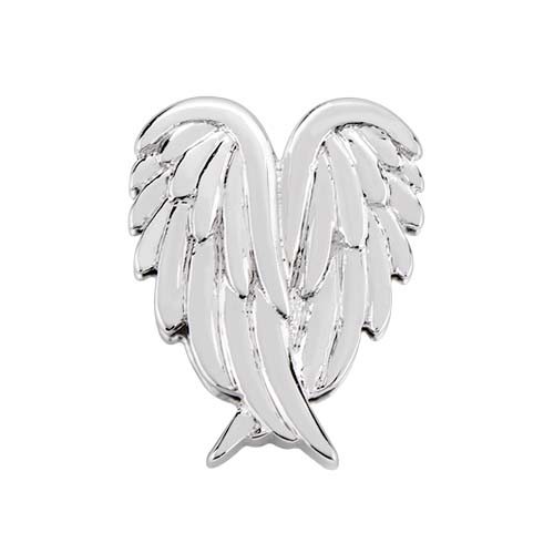BS1016 Silver Angel Wings Slider copy
