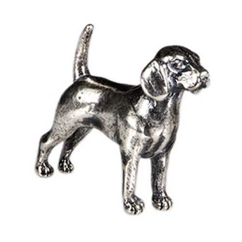 CH1050 Sterling Silver Beagle Charm
