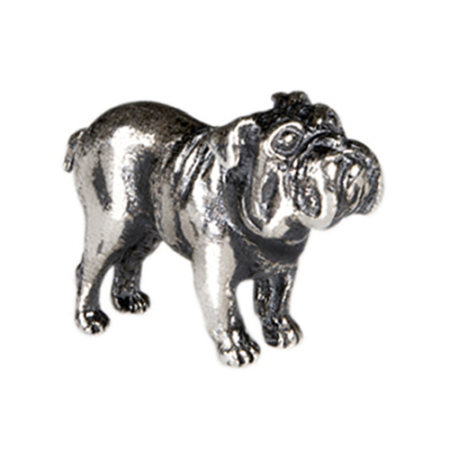 CH1055 Sterling Silver Bulldog Charm ver3