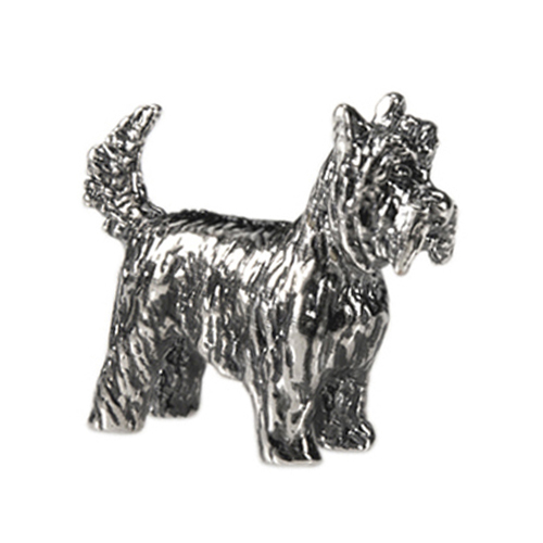 CH1056 Sterling Silver Yorkshire Terrier Charm  ver3