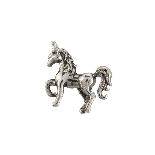 Silver Unicorn Charm SKU CH1082