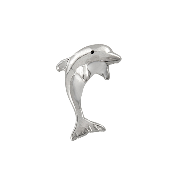 CH1085 Silver Dolphin Charm WEB