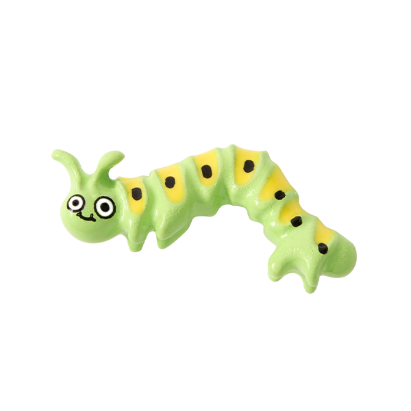 Green Caterpillar Charm SKU CH1228