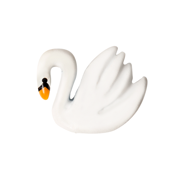 White Swan Charm SKU CH1230