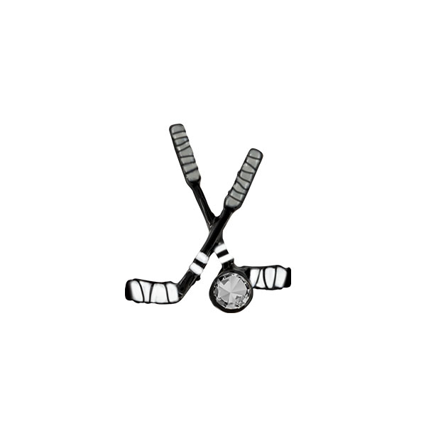 Hockey Sticks Charm SKU CH1376