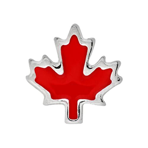 CH1418 Maple Leaf Charm