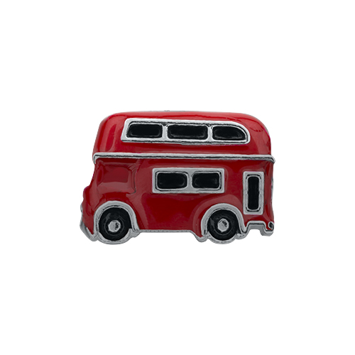 CH1432 Double Decker Bus Charm