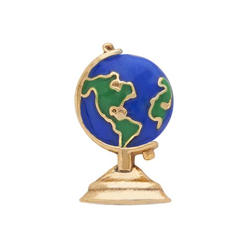 CH1440 Globe Charm