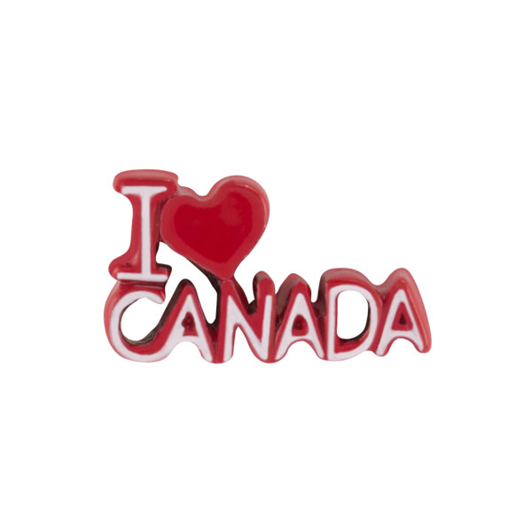 I Heart Canada Charm SKU CH1482