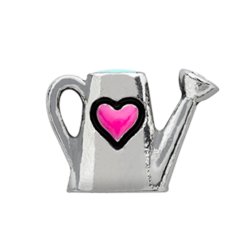 CH1644 Silver Watering Can Charm