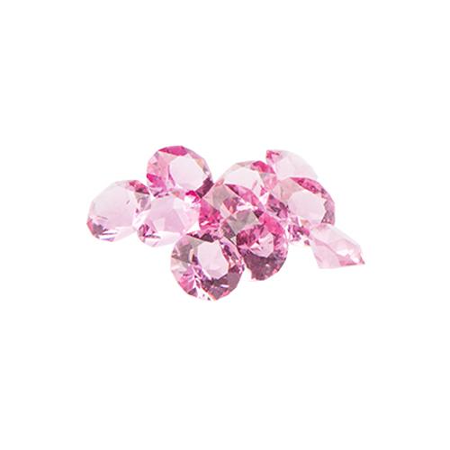 CH1827 Rose Stardust Swarovski Crystals Charm