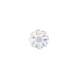 CH1850 Small Aurora Borealis Flower Swarovski Crystal