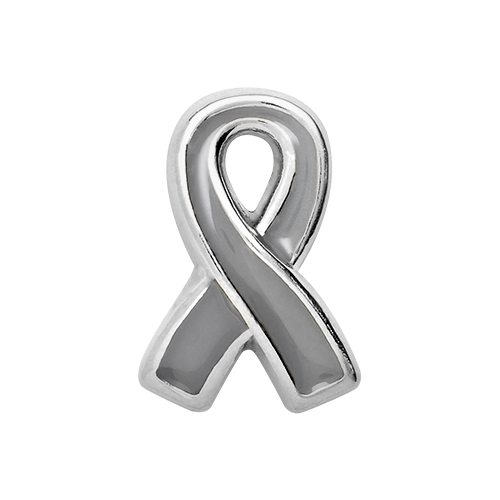 CH2010 Brain Cancer Awareness Ribbon Charm V2