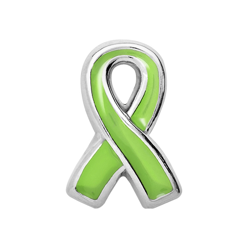 CH2011 Lymphoma Awareness Ribbon Charm V2