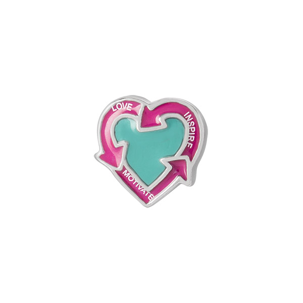 Force for Good Heart Charm SKU CH2020