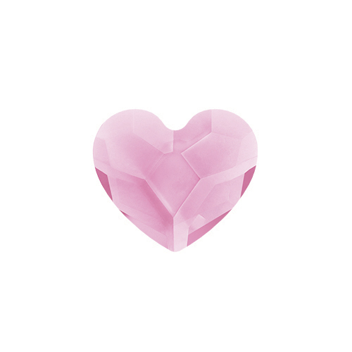 October Tourmaline Heart Swarovski Birthstone Crystal SKU CH3094