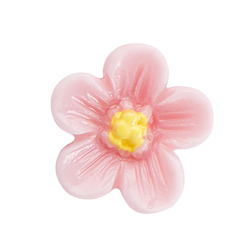 CH3130 Pink Flower Charm