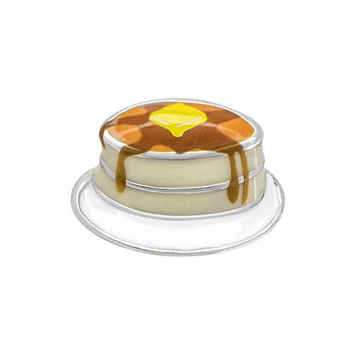 CH3134 Short Stack Pancakes Charm