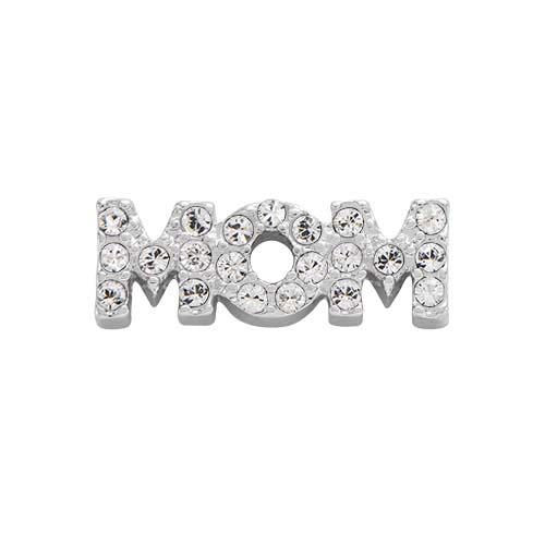 CH3154 Legacy MOM Charm with Swarovski Crystals copy