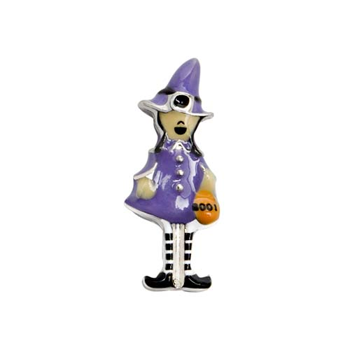 CH3173 Witch Witj Striped Stockings Costume 1