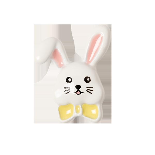 Easter Bunny Face Charm SKU CH3378