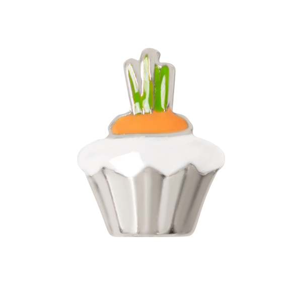 Carrot Cupcake Charm SKU CH3380