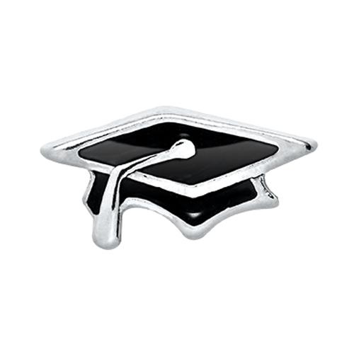 CH4016 Graduation Cap Charm