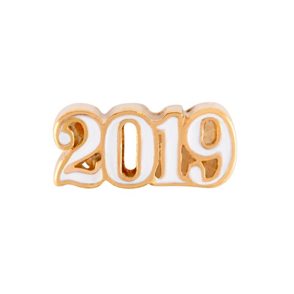 Gold 2019 Charm SKU CH4046