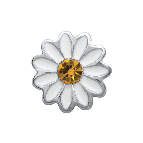 CH4103 White Daisy Charm V2