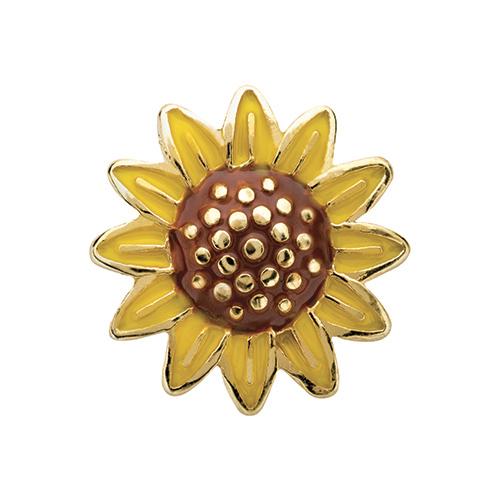 CH4104 Sunflower Charm V2
