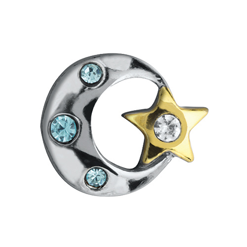 CH4107 Star and Moon Charm V2