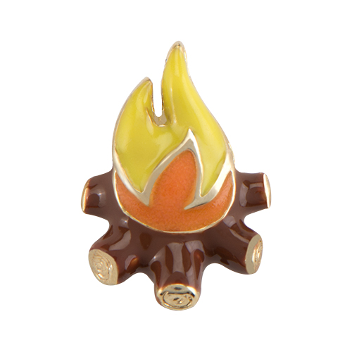 CH4125 Camp Fire Charm1
