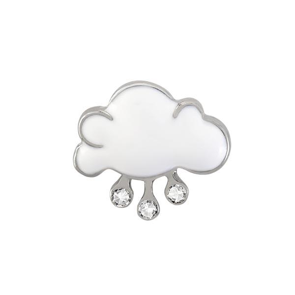CH4135 Siver Rain Cloud Charm