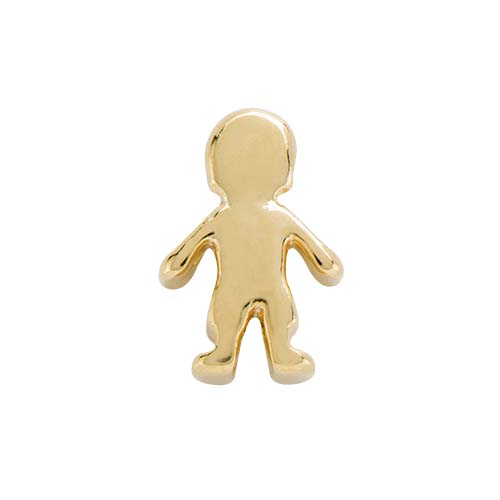 CH6054 Gold Boy Charm copy