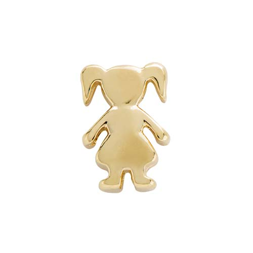 CH6057 Gold Girl Charm copy