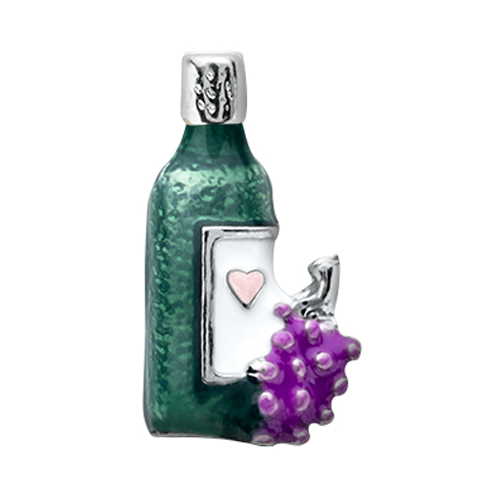 CH7023 Wine Bottle Charm