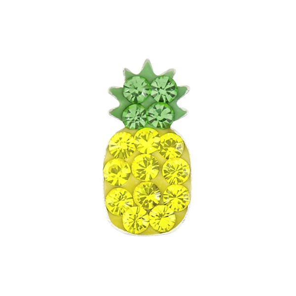 Pineapple Sparkle Charm SKU CH7047