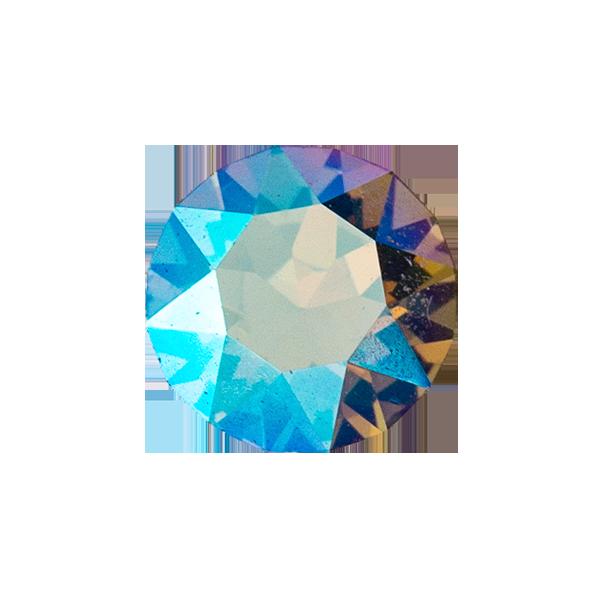Black Diamond Shimmer Round Swarovski Crystal SKU CH8123