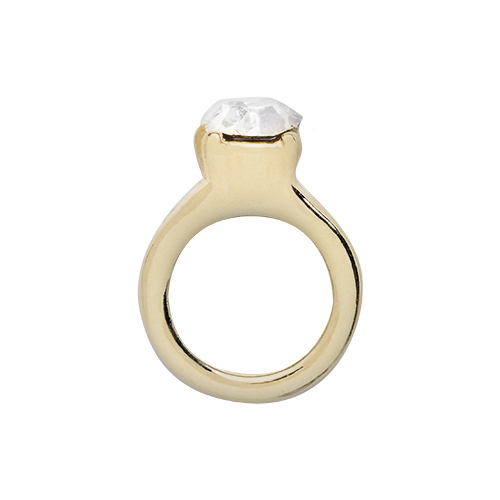 CH9032 Gold Wedding Ring