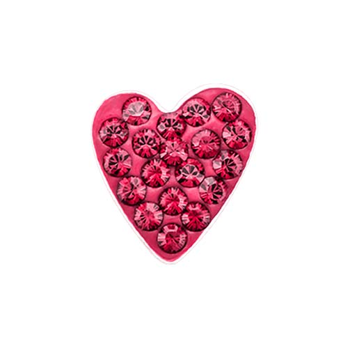 Red Heart Sparkle Charm SKU CH9045