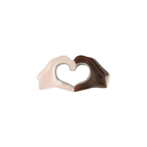 Heart Hands Charm SKU CH9048